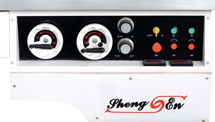 SX-32TA 数显裁板锯展示